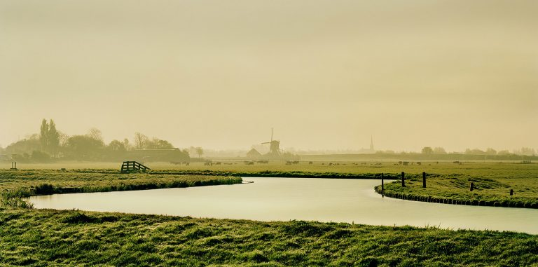 Dutch landscape near Leiden - Print available at LUMAS gallery.
